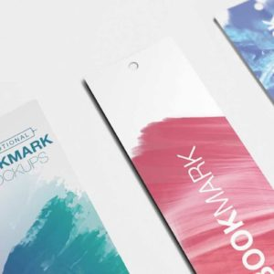 Promotional Bookmarks Full Color Custom Printing