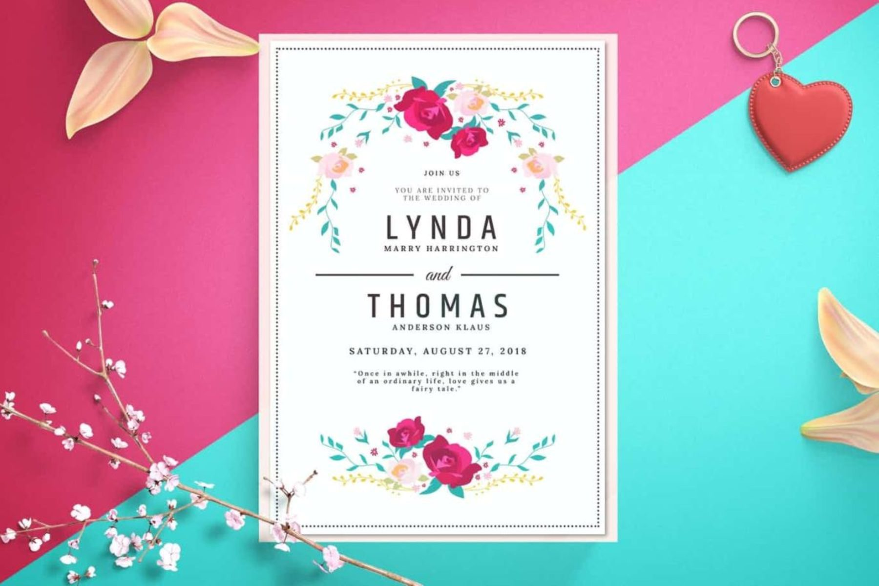 Full Color Custom Invitation Printing