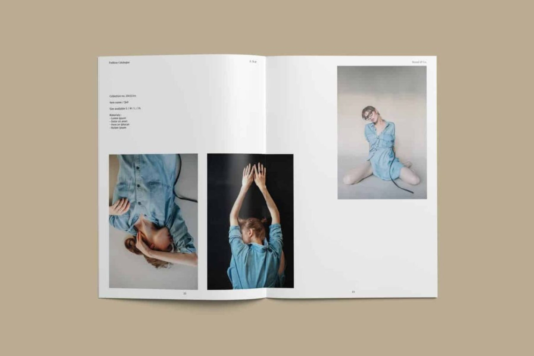 Custom Full Color Lookbook Printing