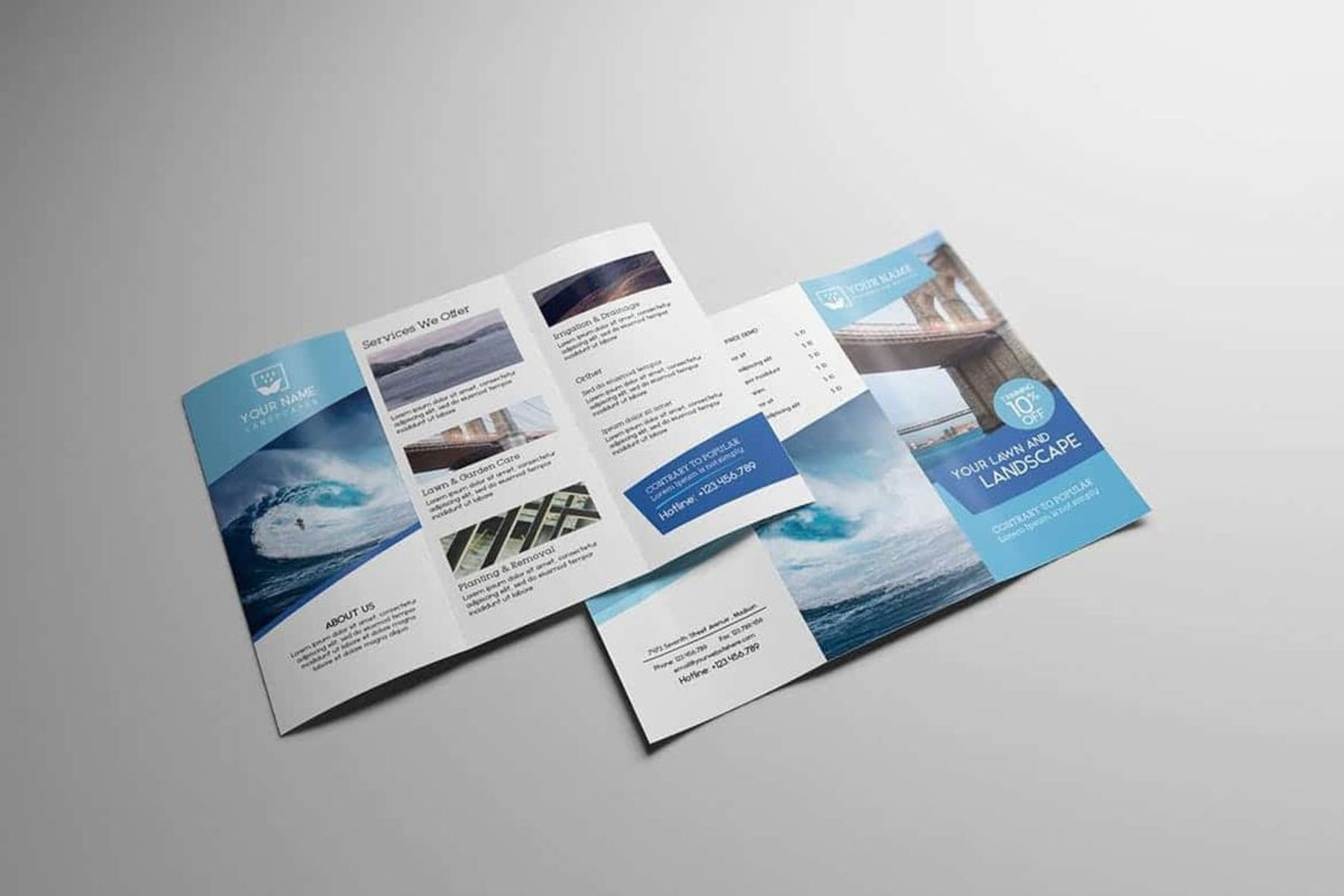 Full Color Trifold Brochures